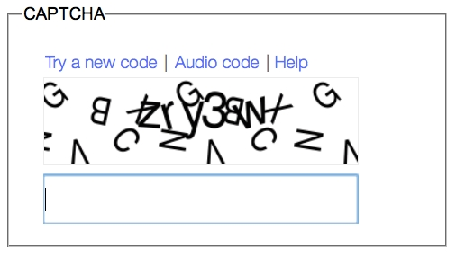 what is meant by captcha